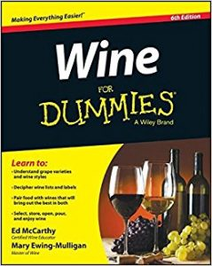free wine for dummies book